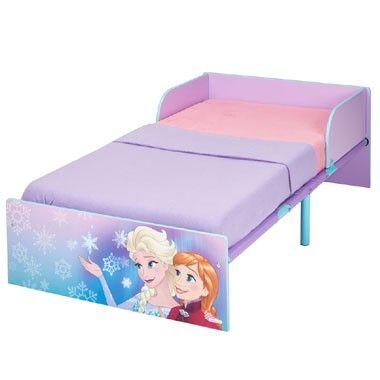 Disney Frozen metalen kinderbed  In dit Disney Frozen-kinderbed droomt je prinsesje over de leukste avonturen van Elsa en Anna. Het bed is paars van kleur en heeft prachtige afbeeldingen.  EUR 99.99  Meer informatie