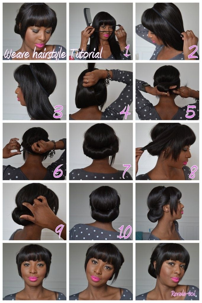 Weave Hairstyle Tutorial