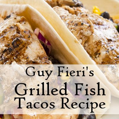 Guy Fieri showed us how he does Fourth of July with his Grilled Tequila Lime Fish Tacos Recipe on the July 4 2013 episode of Kelly & Michael. Check it out!