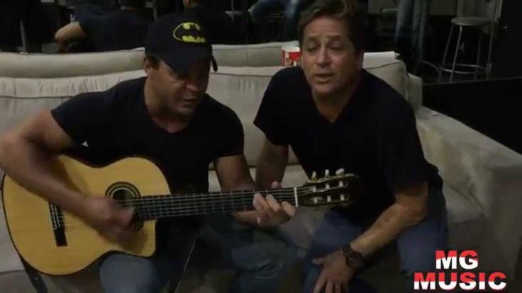 leonardo & eduardo costa cantando juntos