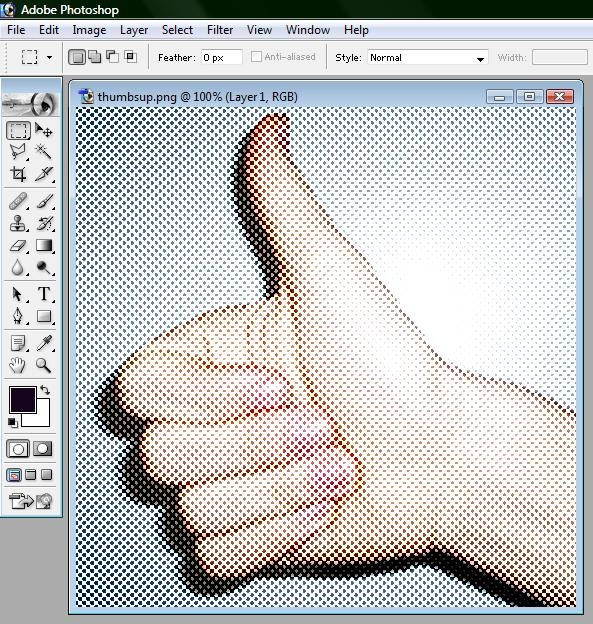 wikiHow to Create a Halftone Effect in Adobe Photoshop 7 -- via wikiHow.com