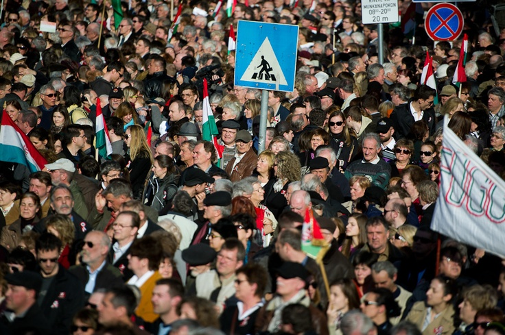 Crowd. 15th March 2012
