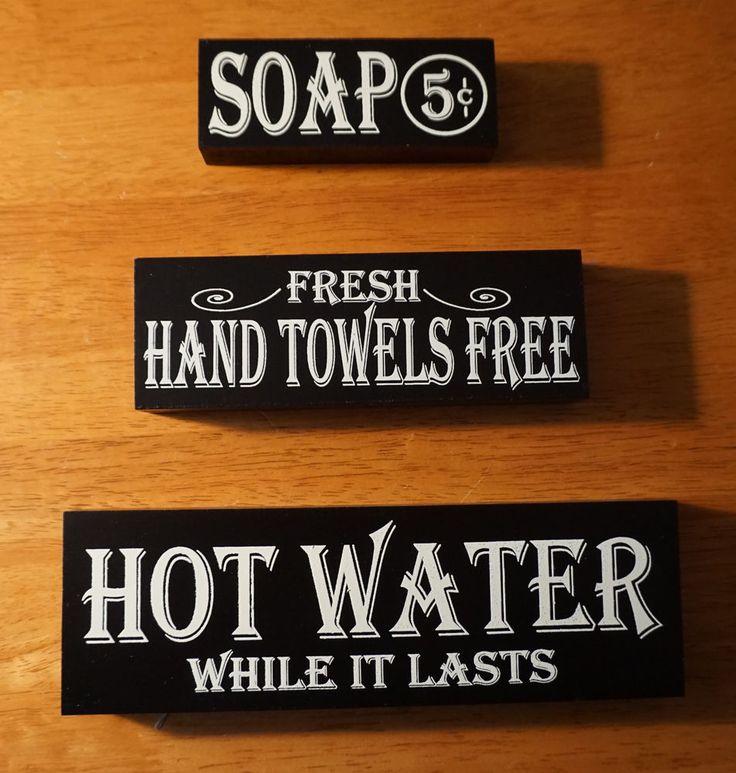 Bathroom Signs Ebay 155 best bathroom signs images on pinterest | bathroom signs