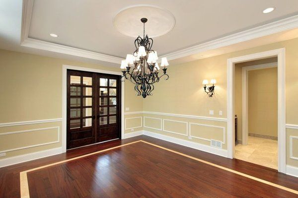 61 best wainscoting ideas images on pinterest master for Dining room trim ideas