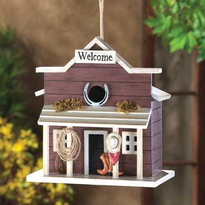 Western Saloon Birdhouse by LKZ - http://www.lexiskreationz.net/dept-32012-pfid-14961