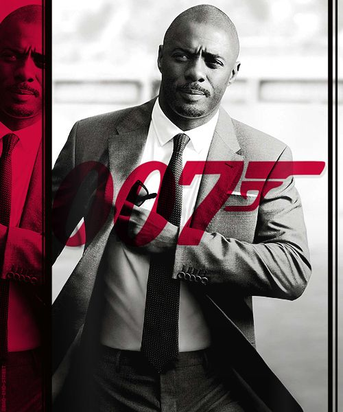 There are rumors that he could be the next Bond. Ummmm yes. Yes, please. | 26 Reasons To Give Your Life Over To The Glory That Is Idris Elba