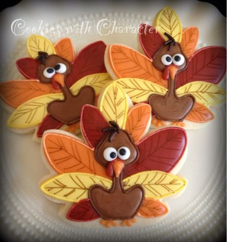 Cookies with Character: Happy Thanksgiving Y'all!                                                                                                                                                                                 More
