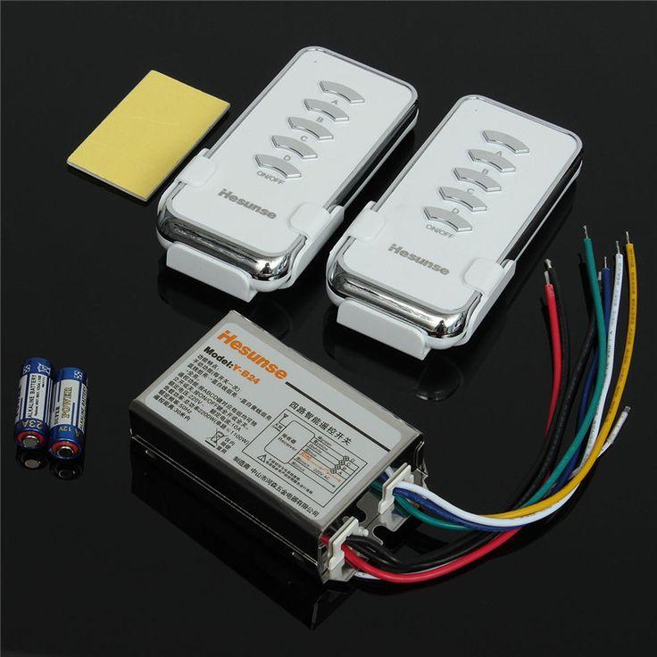 $14.23 (Buy here: https://alitems.com/g/1e8d114494ebda23ff8b16525dc3e8/?i=5&ulp=https%3A%2F%2Fwww.aliexpress.com%2Fitem%2FA-Set-Y-B24-2N1-220V-4-Ch-RF-Digital-Wireless-Remote-Control-Light-Lighting-Switch%2F32697406122.html ) A Set Y-B24 2N1 220V 4 Ch RF Digital Wireless Remote Control Light Lighting Switch 2pcs Remote Control + Receiver for just $14.23