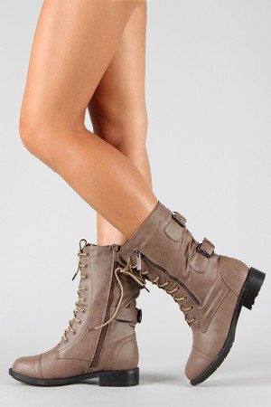 Pack-72 Military Lace Up Mid Calf Boot  From urbanog.com ·