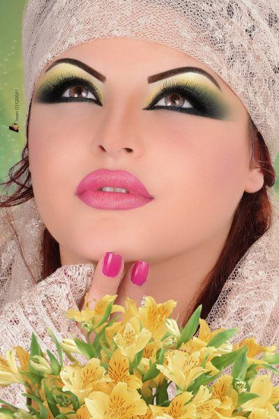 All Day Wedding Makeup : 17 Best images about Arabic Bridal Makeup Tips 2014 for ...