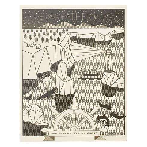 Good Ship Dad Card by Hello Lucky