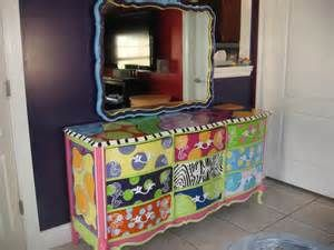 Great Whimsical Painted Furniture   Bing Images