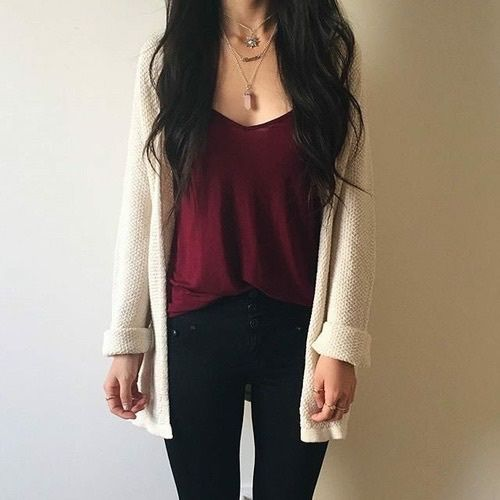 Best 25+ Cute cardigan outfits ideas on Pinterest | Cute ...