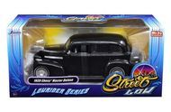 1939 Chevy Master Deluxe Black Lowrider 1/24 Scale Diecast Car Model By Jada 98813