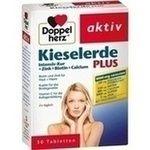 DOPPELHERZ Kieselerde Plus Int.Kur+Zi.+Bio.+Cal.T:   Packungsinhalt: 30 St Tabletten PZN: 10021753 Hersteller: Queisser Pharma GmbH & Co.…