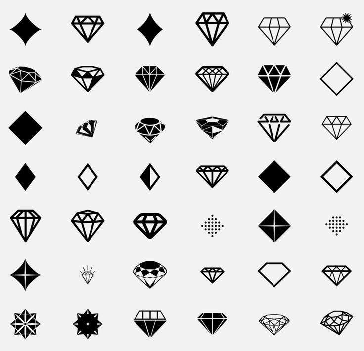 diamond icons on TheNounProject