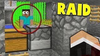 THE BEST FUNNIEST INVISIBLE RAID Minecraft FACTIONS - Minecraft factions spielen