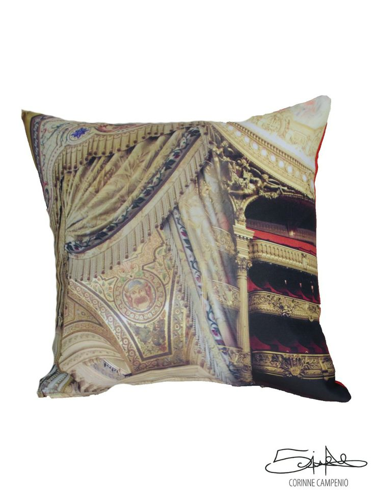 Opéra #cushion #opera @Paris #furniture #home #decor #style #architecture