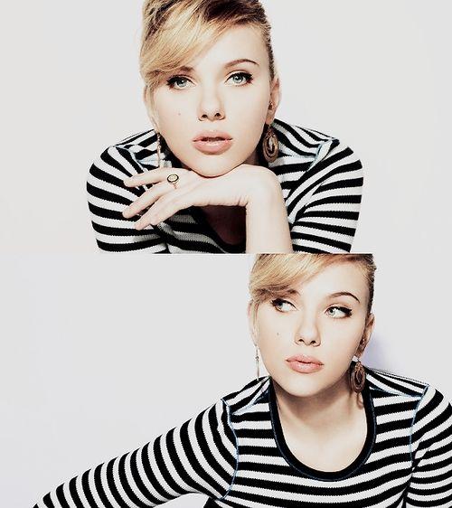 Scarlett Johannson - She reminds me of my sister, Lindsey!