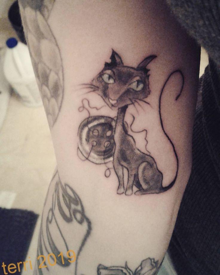 Friday The 13th Tattoo Coraline Coralinetattoo Annatattoos Thank You Sooo Muc Coraline Tattoo Friday The 13th Tattoo Tattoos