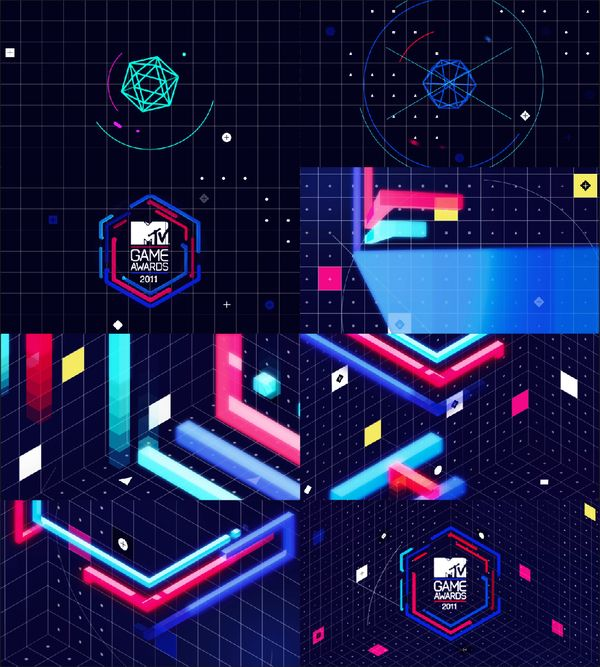 Here's your dose of MTV and its Game Awards #motion design