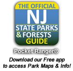 Wharton State Forest is the largest single tract of land within the New Jersey State Park System. It is also the site of Batsto Village, a former bog iron and glassmaking industrial center from 1766 to 1867 that currently reflects the agricultural and commercial enterprises that existed here during the late 19th century. Click on the image to visit the website.