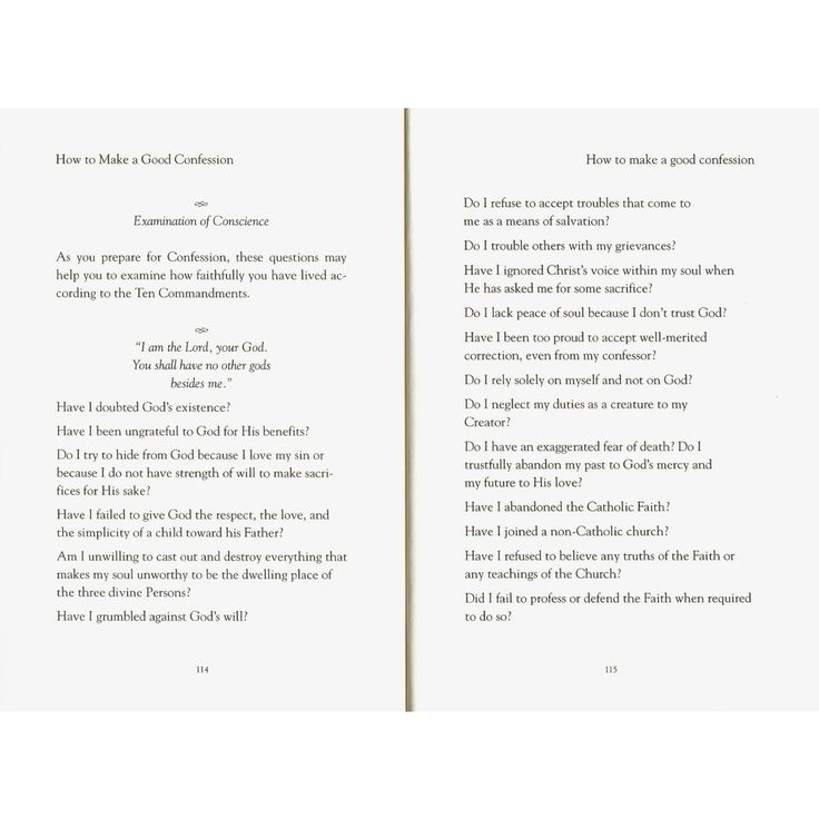 sacrament of reconciliation guide Liturgy & sacraments  below is a simple guide for confession   examination of conscience: before entering the reconciliation room, you  should.