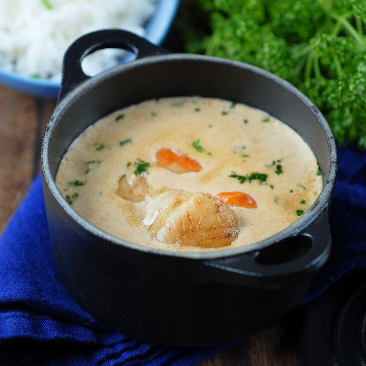 Découvrez la recette Mini cocotte de Saint-Jacques à la crème sur cuisineactuelle.fr.