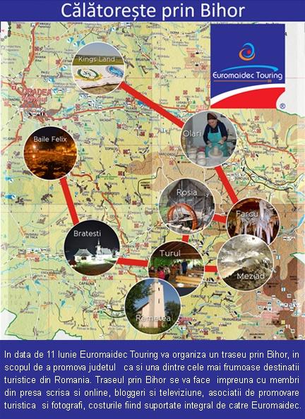 Turist prin Bihor cu Euromaidec Touring