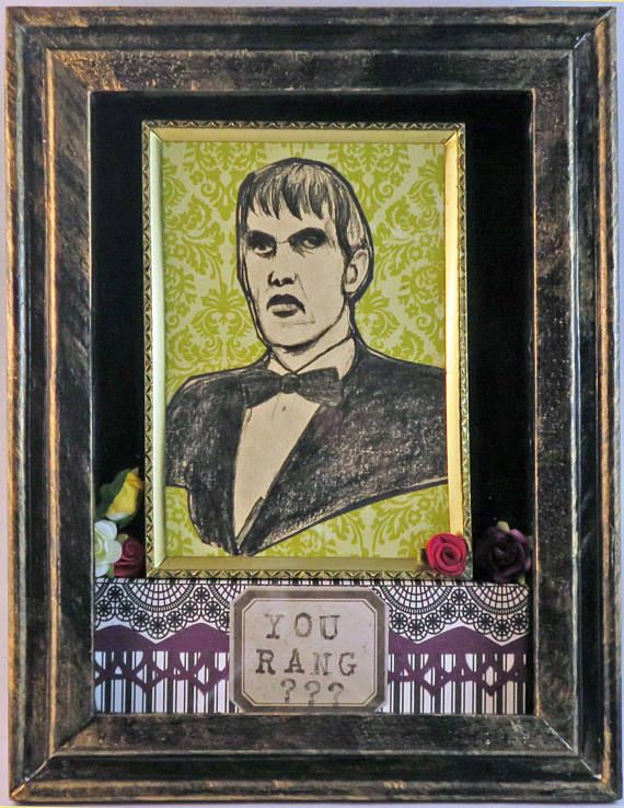 Ted Cassidy Lurch Addams Family Tribute / Ofrenda Shadowbox