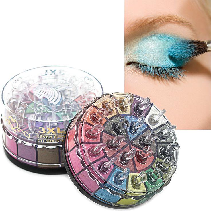 Shimmer Glitter Eye Shadow Powder Palette Matte Eyeshadow Cosmetic Makeup Kit  F713 #Affiliate