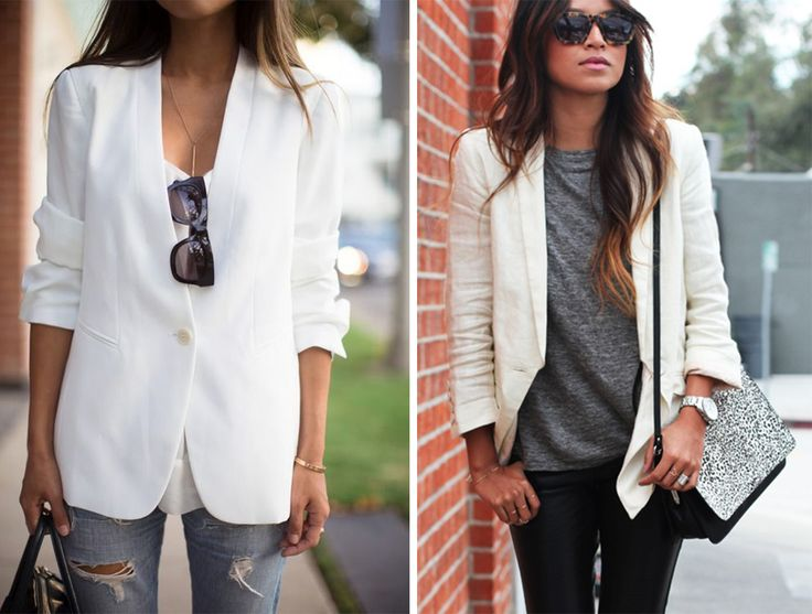 Top 25 ideas about White Blazer...most trending on Pinterest ...