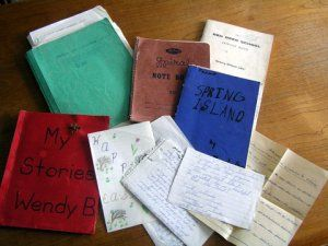 Early story notebooks