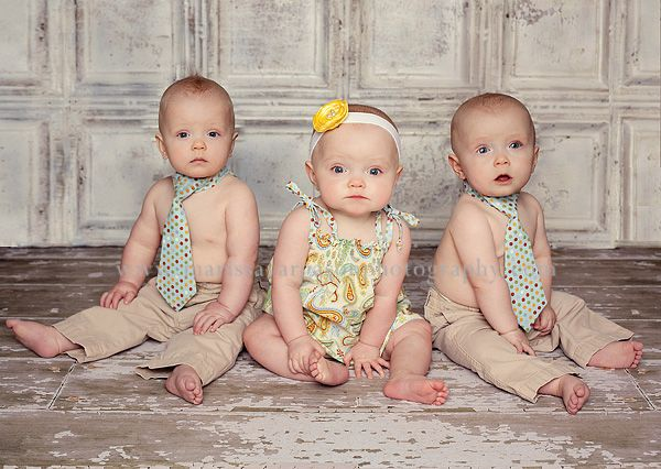 Do you have multiples? Well, even if you only have one precious child be sure to take a lot of photos.  You want to remember them through out their lives and be able to embarrass them with the pictures when they are dating.