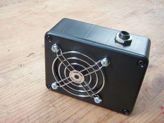 DIY battery guitar amp