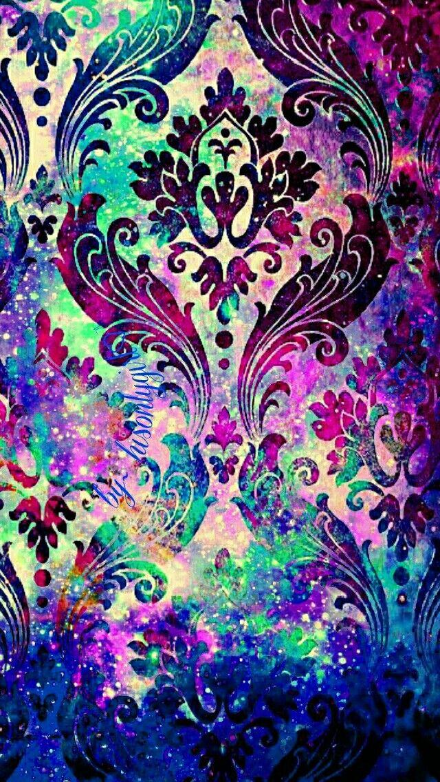 Damask galaxy iPhone/Andr... 640