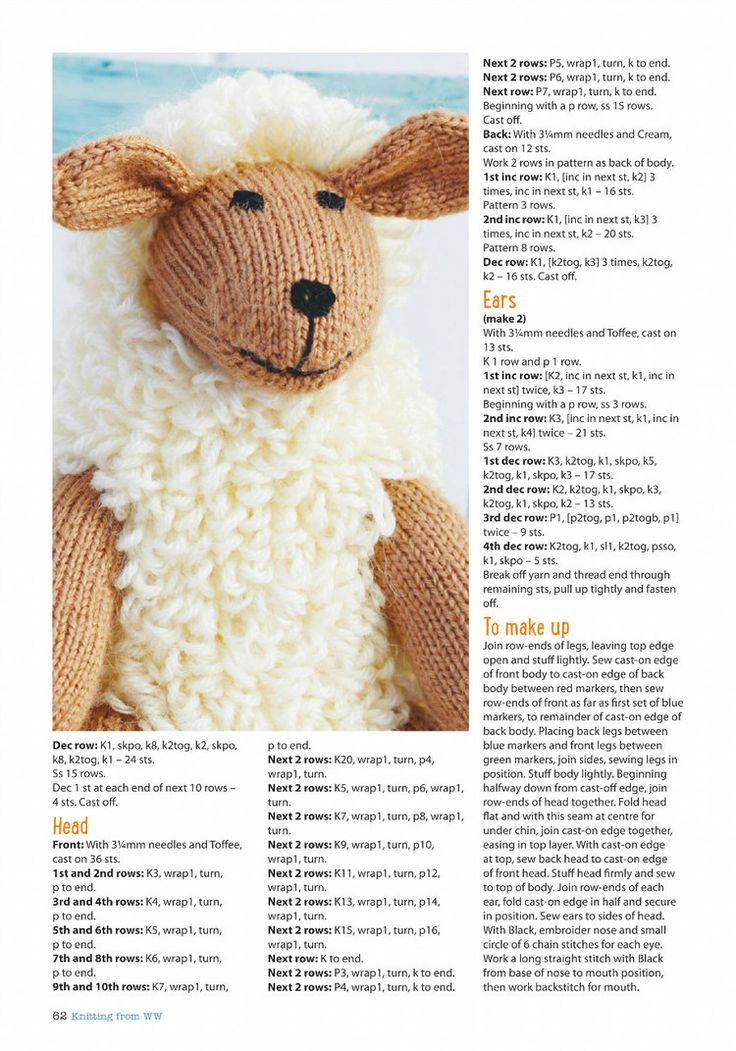 Womans Weekly Knitting Crochet March 2016 - 轻描淡写 - 轻描淡写