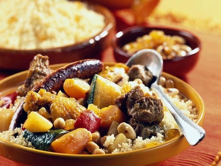 Découvrez la recette Couscous royal sur cuisineactuelle.fr.