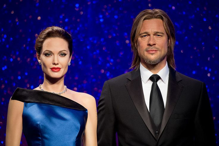 Brad and Angelina's Divorce Is Wax-Figure Official