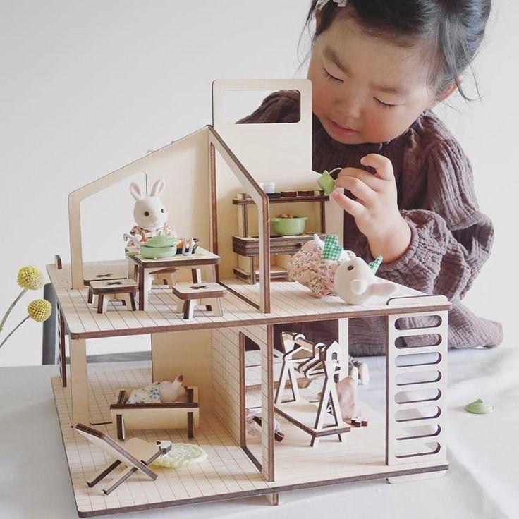 M s de 25 ideas incre bles sobre muebles de casa de - Casa de munecas imaginarium segunda mano ...