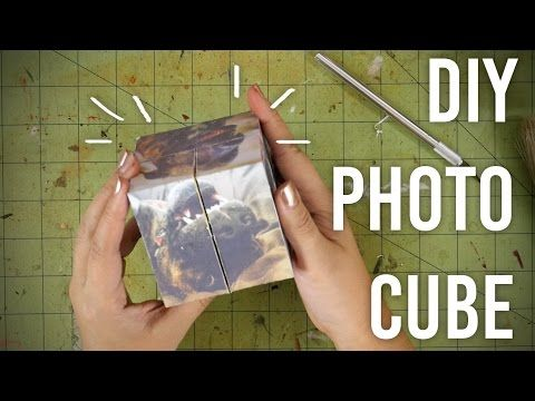 Magic Photo Cube Album for Mother's Day – DIY Tutorial by Paper Folds ❤️ – YouTube