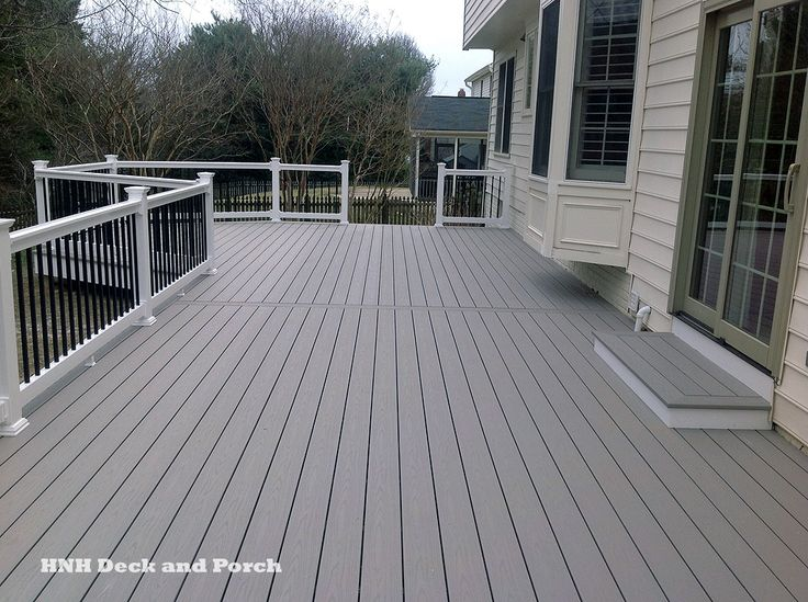 30 best hnh deck flooring images on pinterest for Composite decking and railing