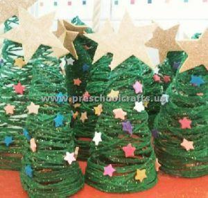 Merry Christmas Tree Craft Ideas This Section Has A Lot Of Crafts For Preschool And Kindergarten Page Includes Funny