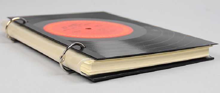 Vinyl Record Notebook | Top 10 DIY Unique Vinyl Records Recycle
