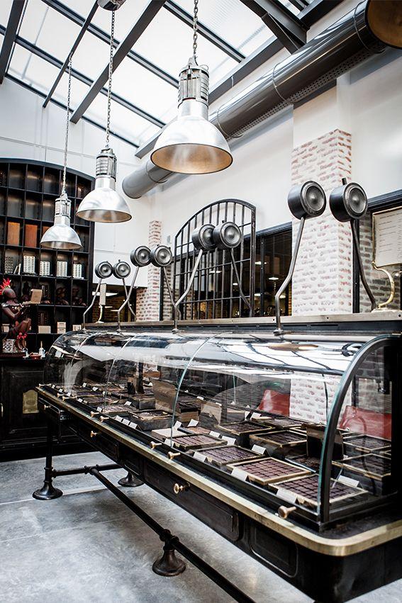 Le Chocolat - Alain Ducasse - Paris - Fabrication de chocolat à la Manufacture