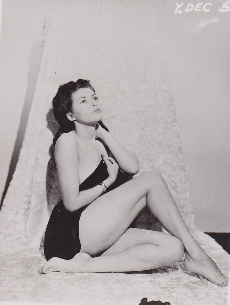 Young yvonne de carlo naked #12