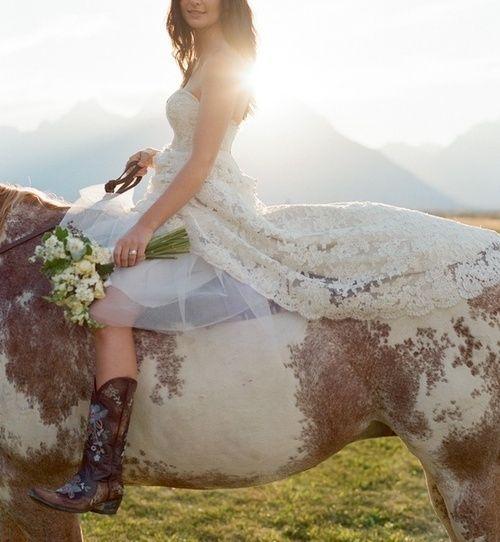 Horseback Wedding Dresses