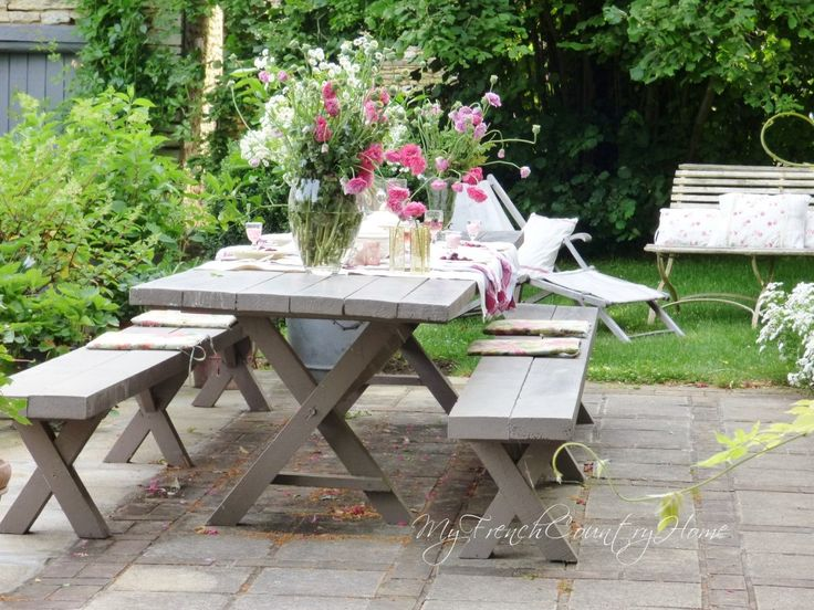 My French Country Home, French Outdoor Dining