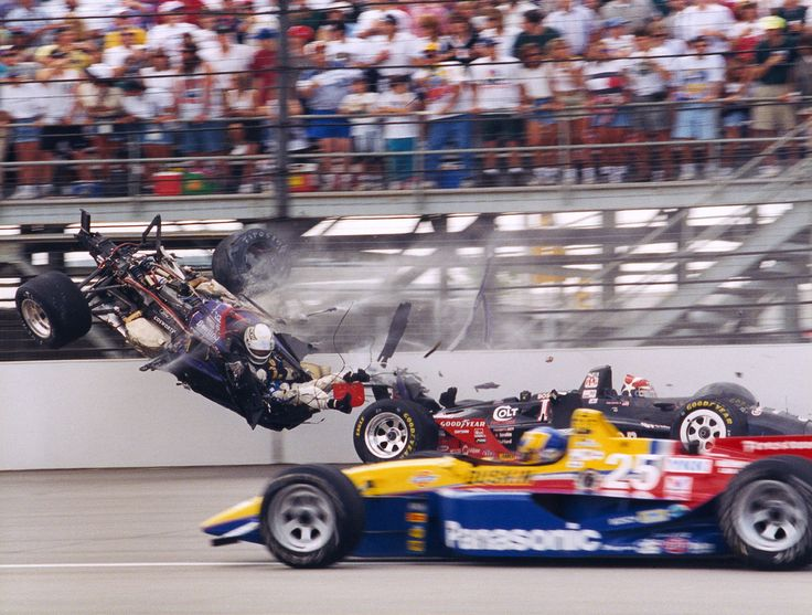 Best Racing Crashes Through Time Images On Pinterest