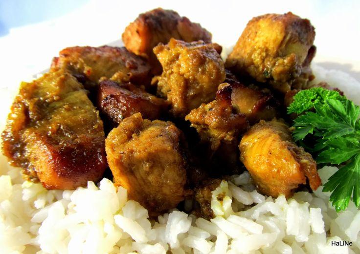 Nejedlé recepty: Marinované kuřecí kostky - Bourbon kuře ...